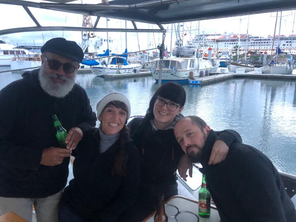 Bons moments à Cruiseport Marina, Ensenada