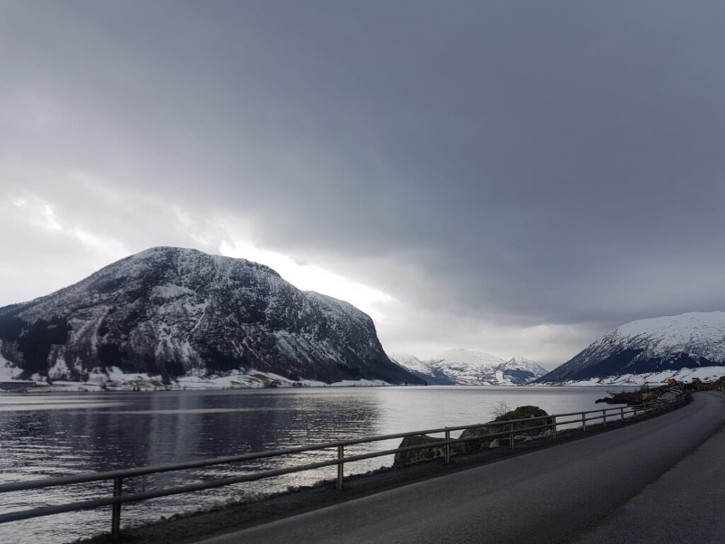Beautiful fjord in Norway