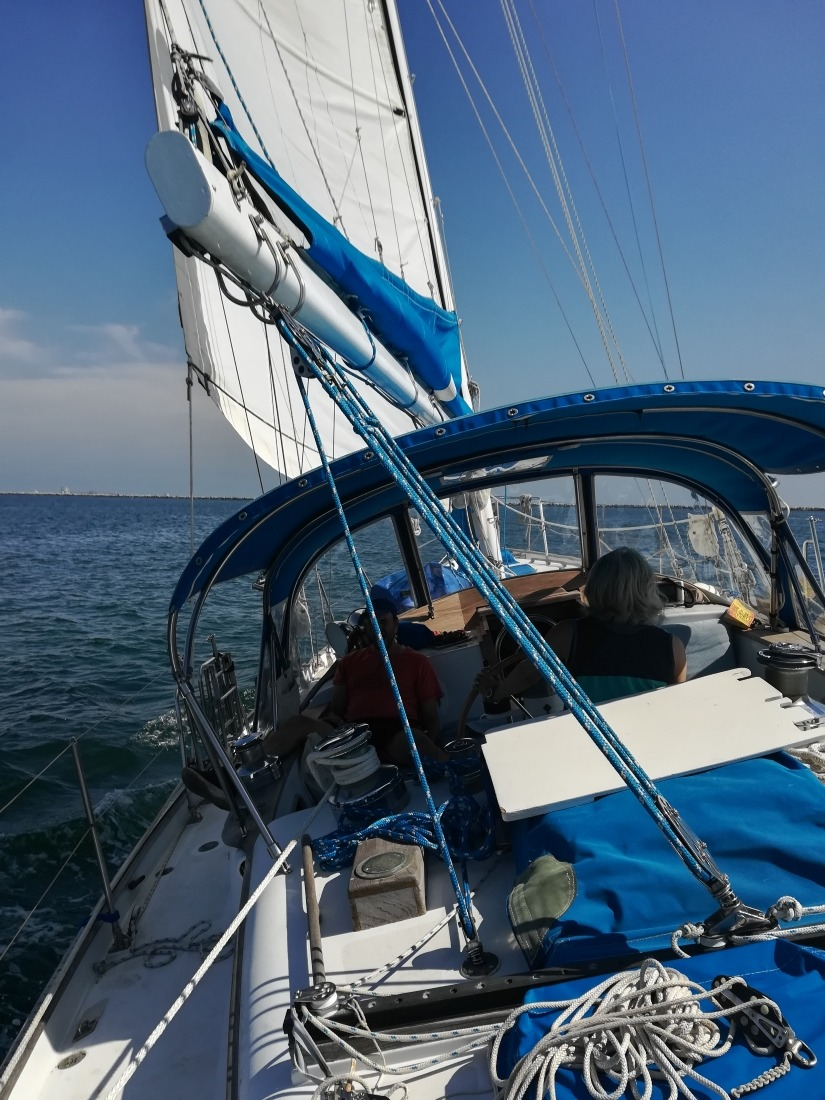 Sailing the Kelly Peterson 44, a sturdy, safe and well performing sailboat