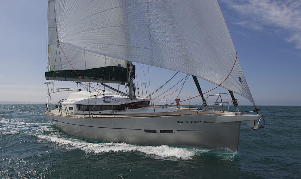 A Garcia Exploration 45 aluminium sailboat