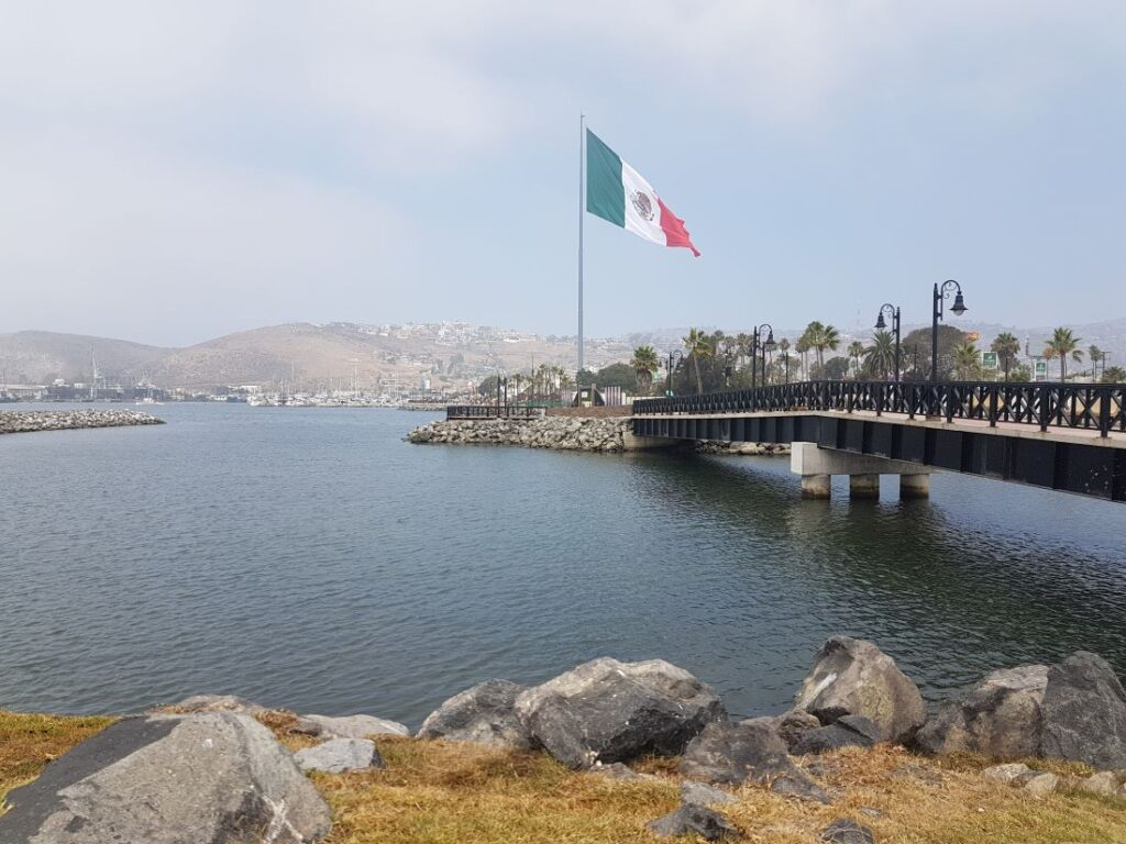 The port entry of Ensenada
