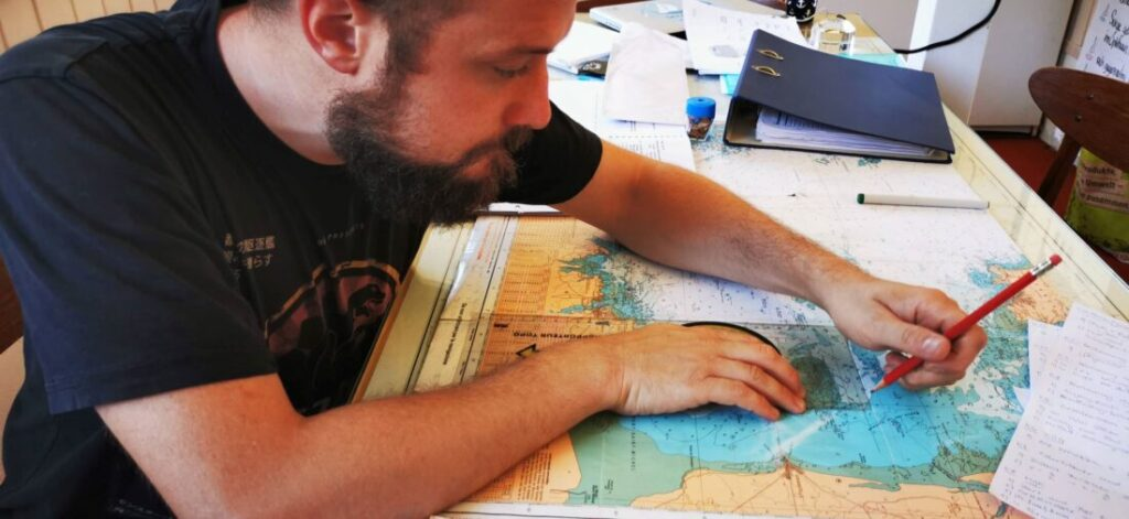 Preparation of a proper navigation on paper is a key skill