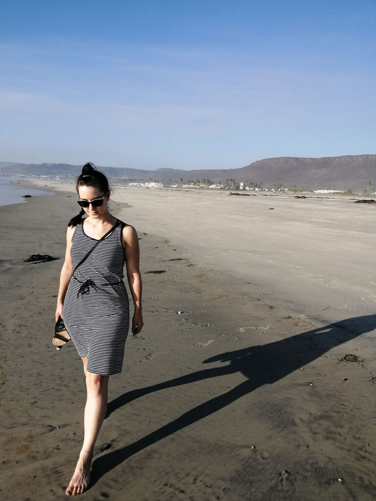 Pati am Strand in La Salina