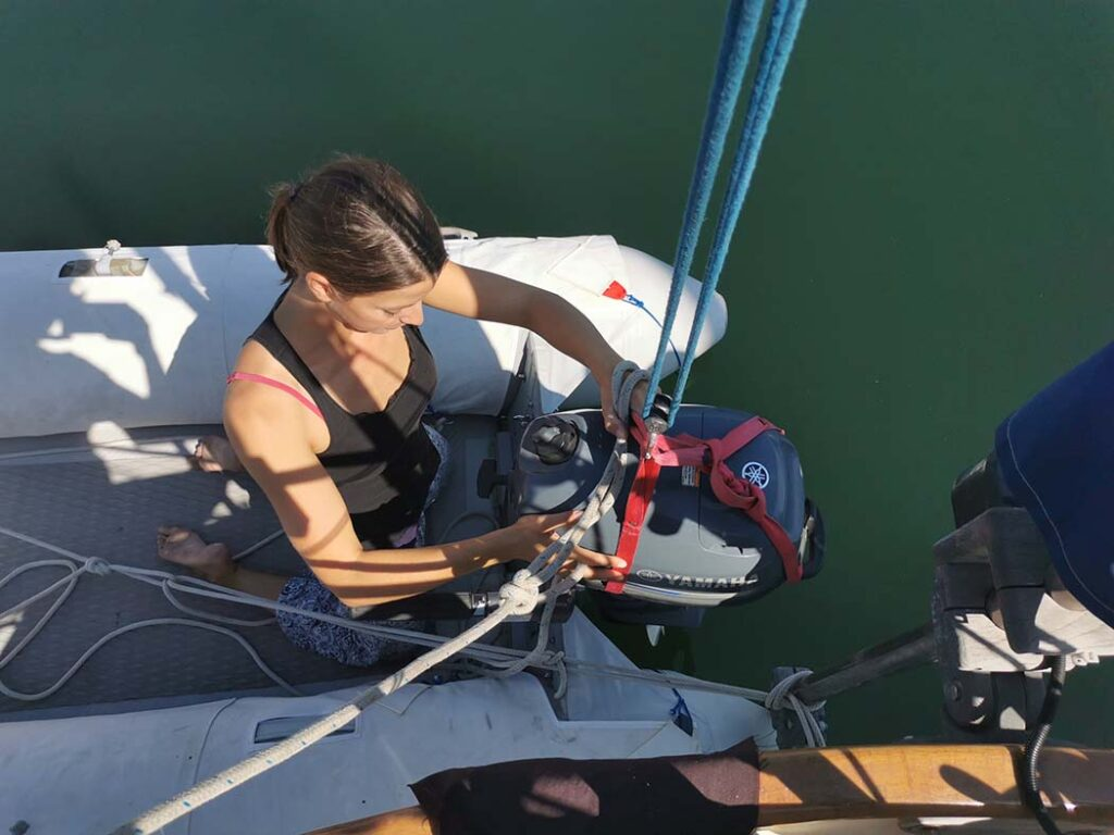 Installing the Outboard