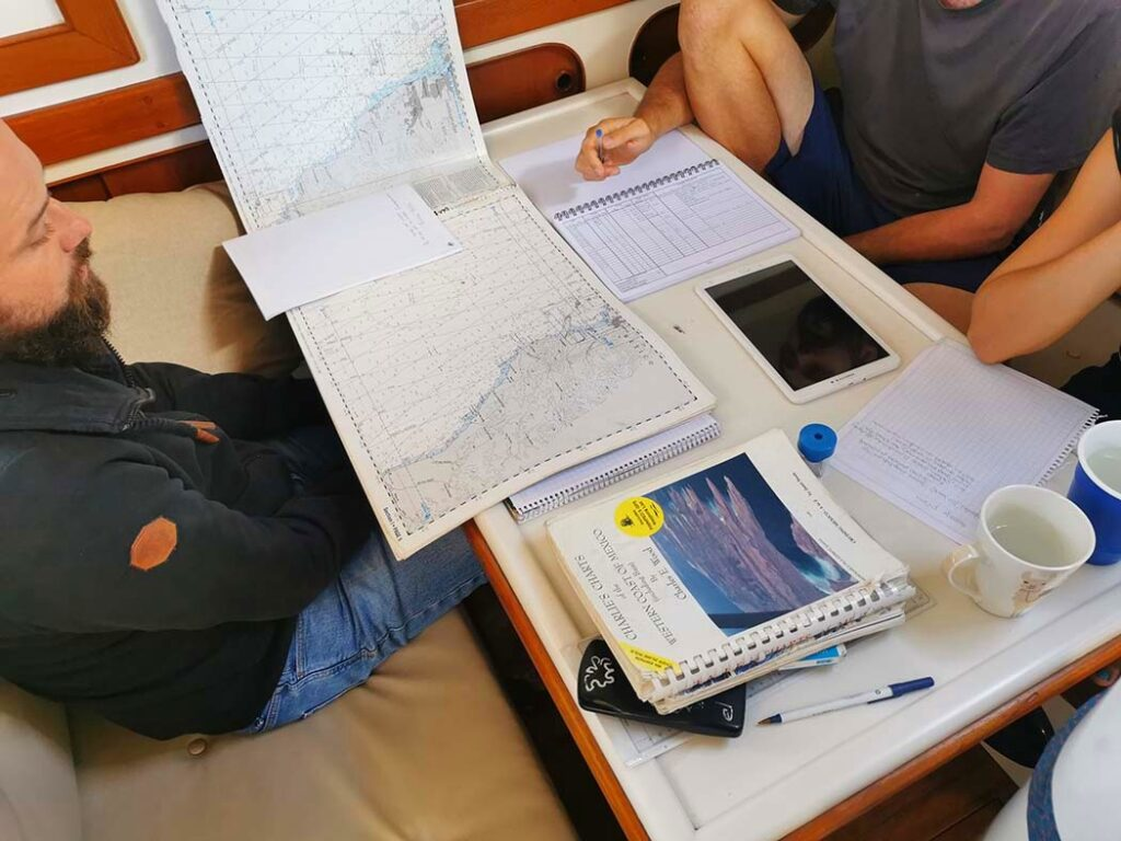 Passage Planning for Milagros