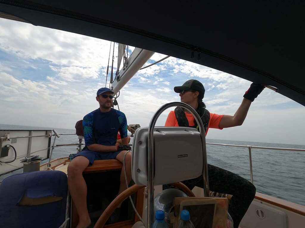 Pati at the helm of Milagros