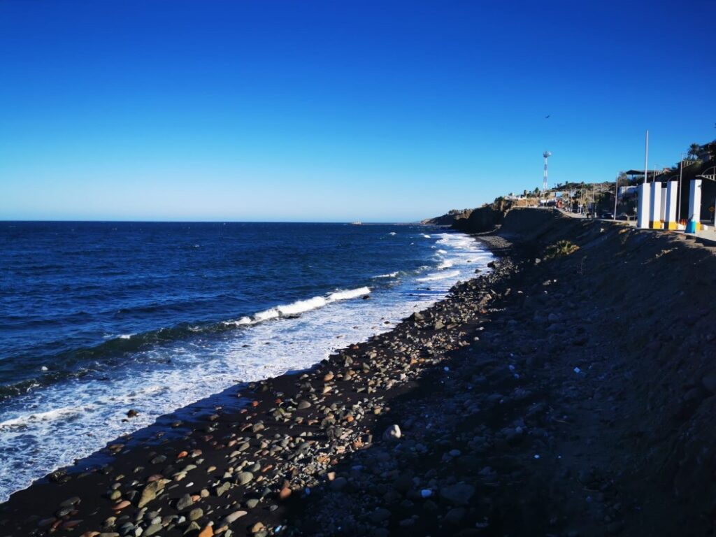 Strand in Santa Rosalia