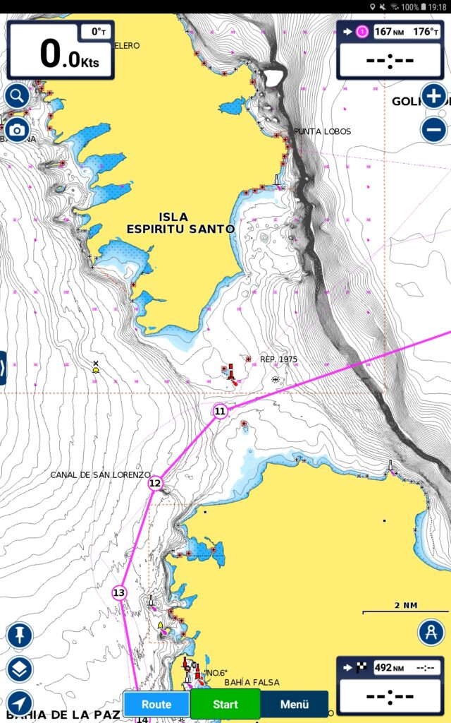 Passage Plan to La Paz