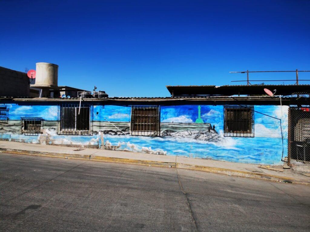 Strassenkunst in Santa Rosalia