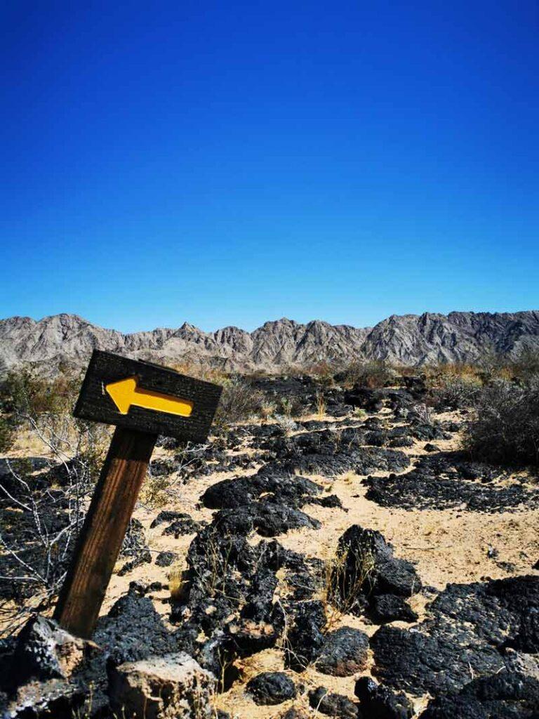 Sierra Pinacate depuis le centre d'accueil de Schuk Toak