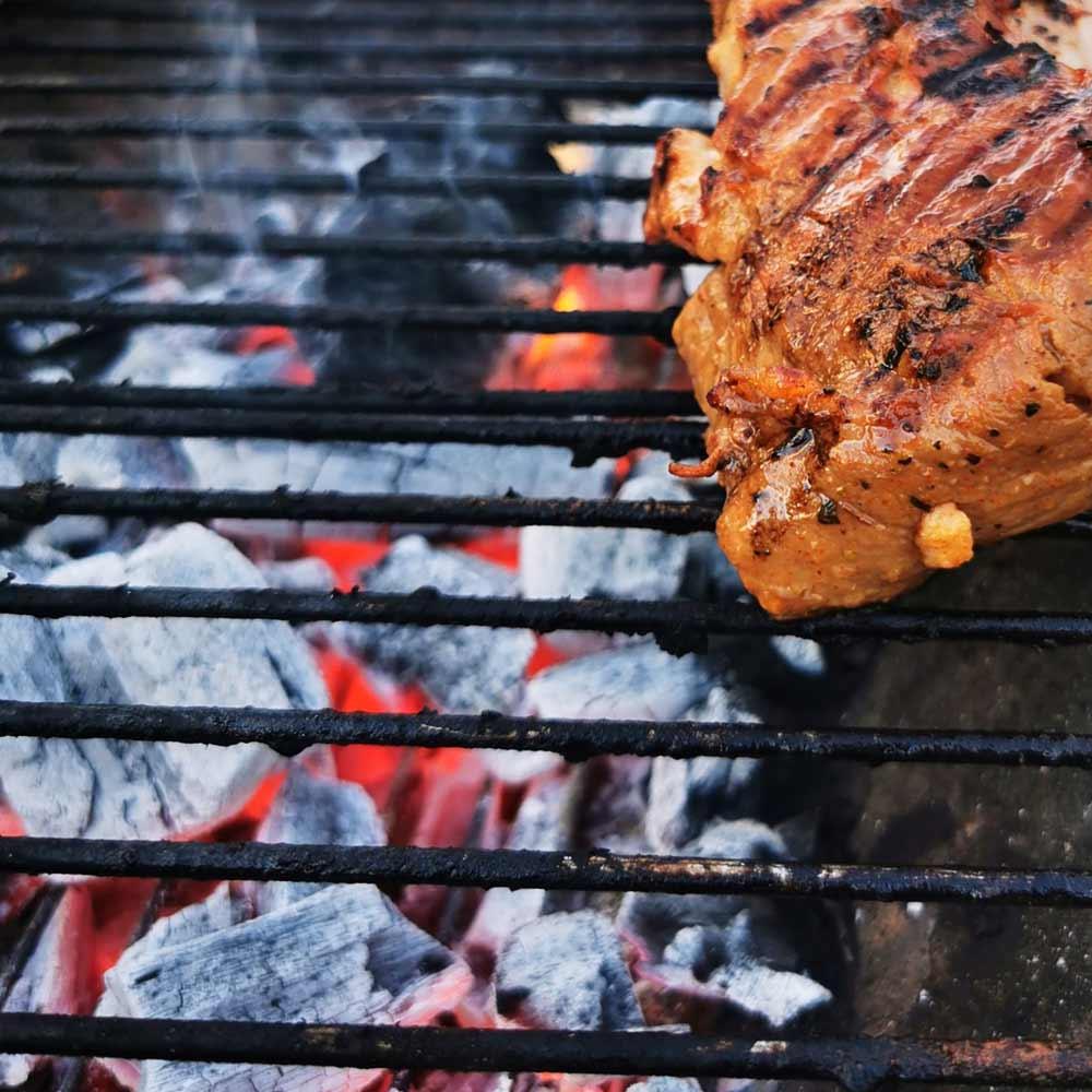 Schweinefleisch auf dem Grill