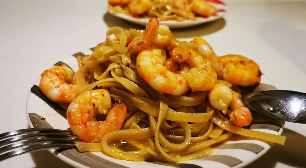 Sea of Cortez Shrimp-Pasta