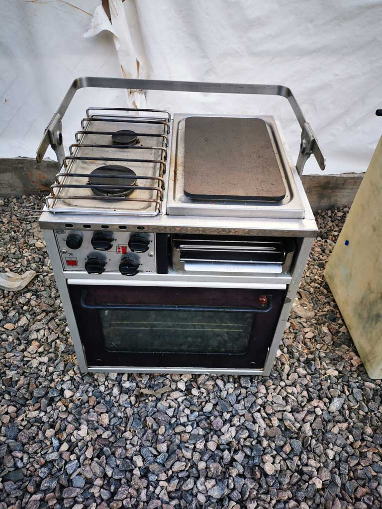 Our old stove