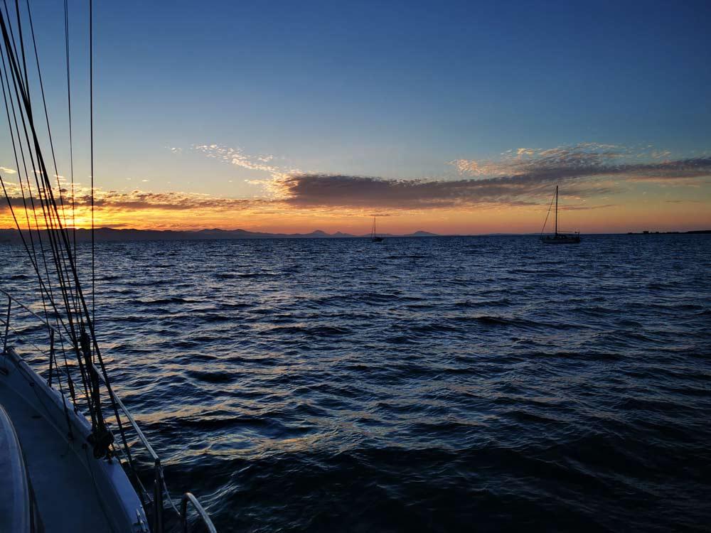 Sea of Cortez anchorage