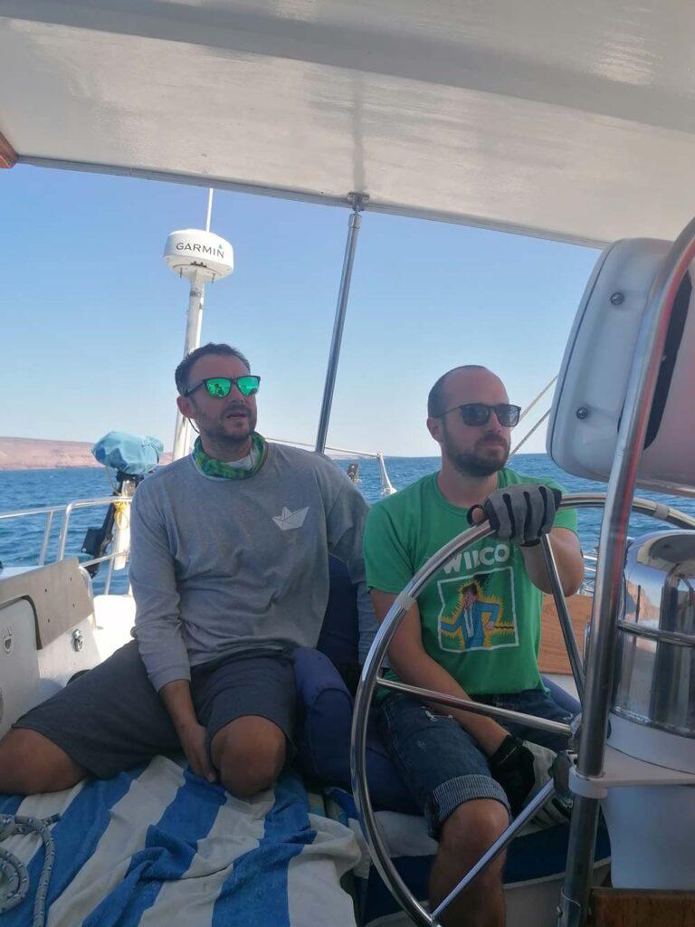 Segelstunden auf einem Cal 2-46 Blauwasser Segelschiff