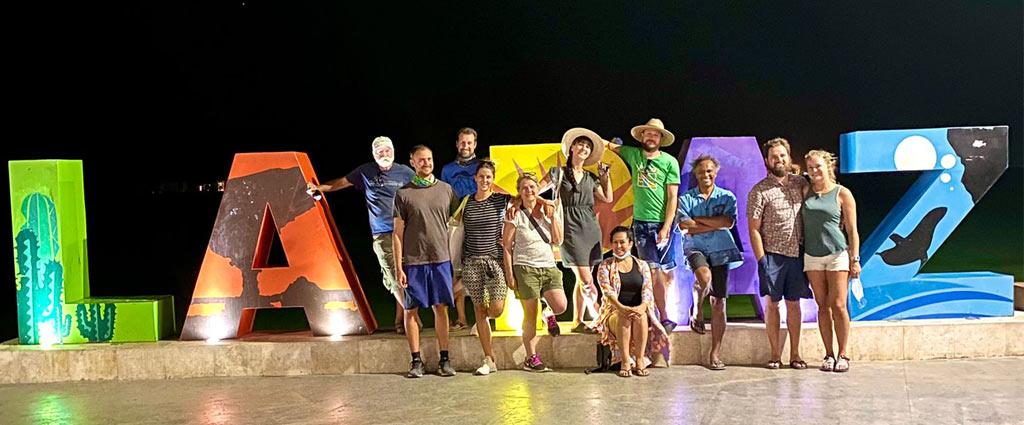 Party in la Paz, Baja Calfiornia, Mexico