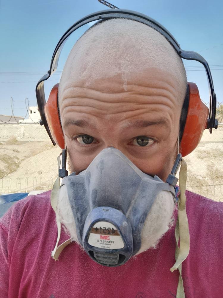 Sanding dust