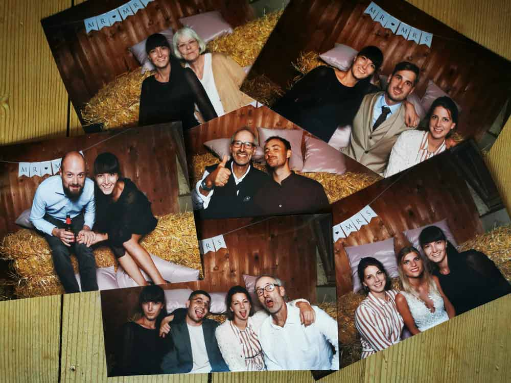 Wedding family pictures