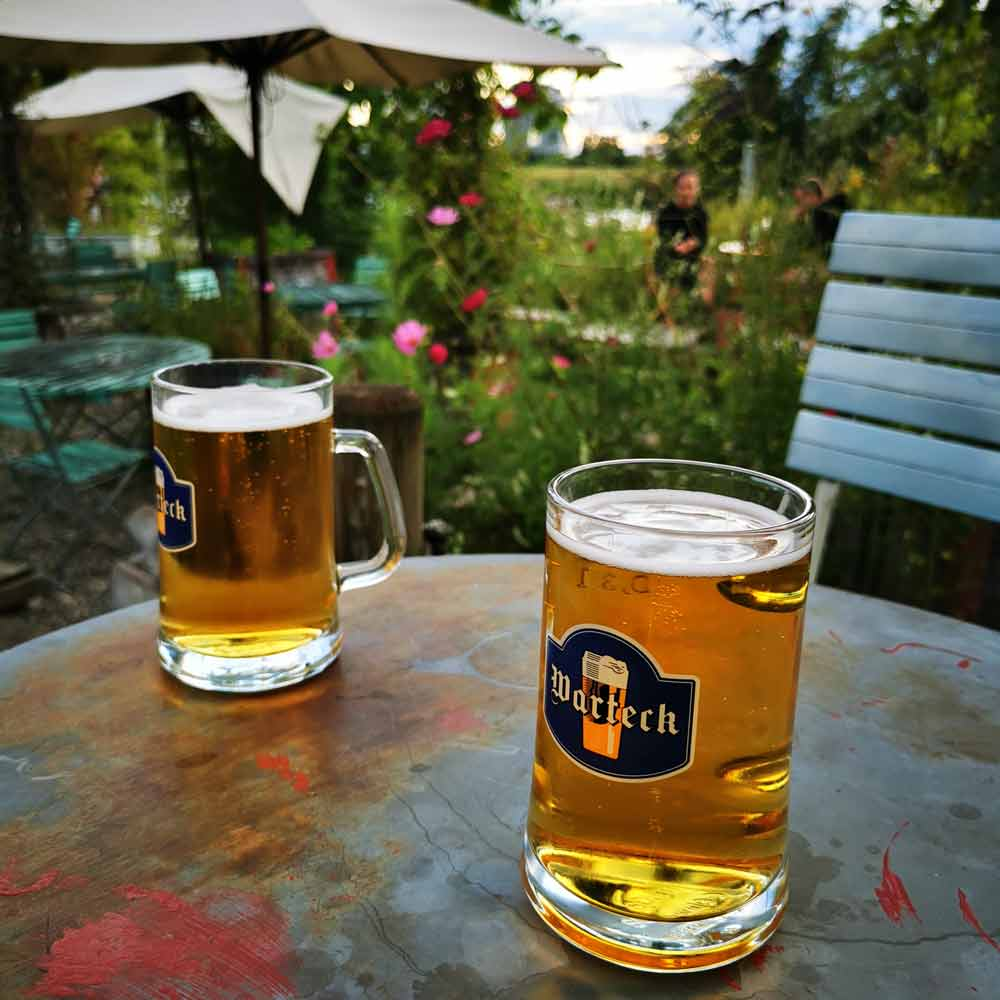 Warteck beer