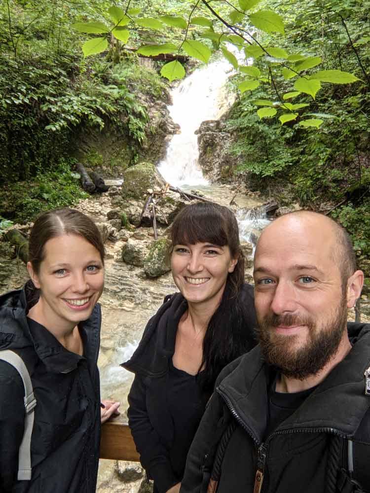 Walking the Wasserfallen in Switzerland