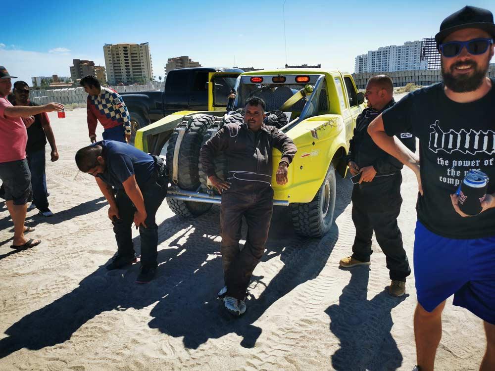 Souther Arizona desert racing crew